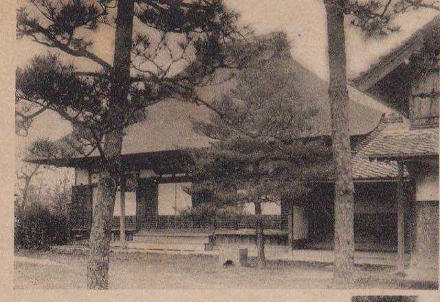 江戸時代から昭和9年までの本堂