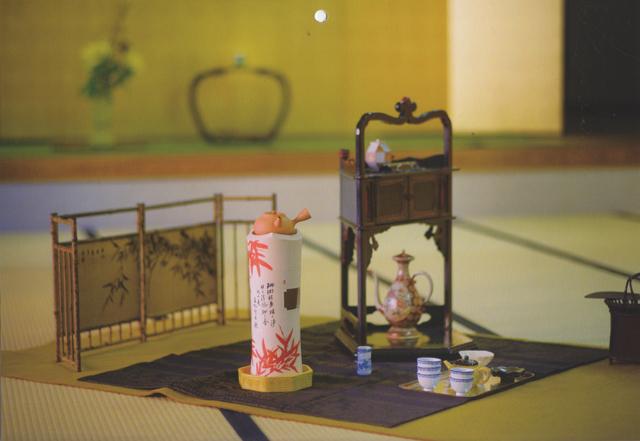 煎茶の室礼